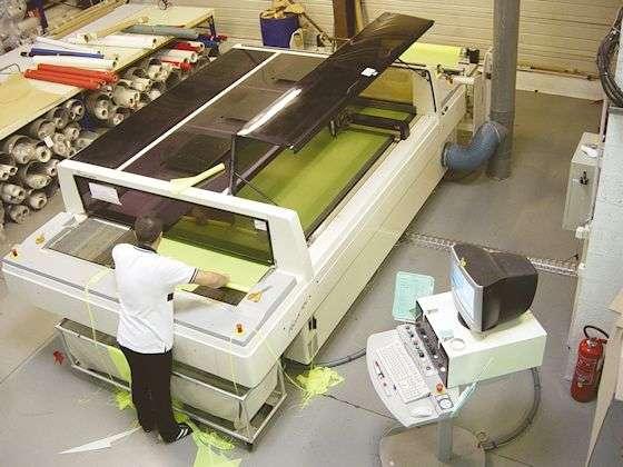 machine à découper laser